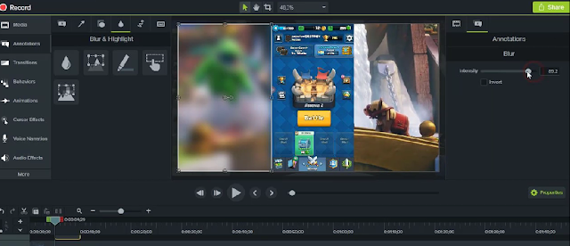 tutorial edit video portrait di camtasia