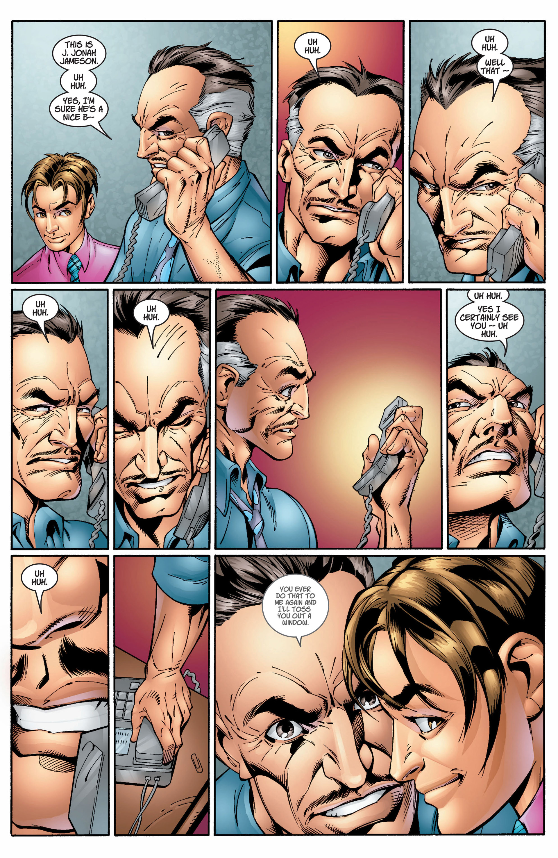 Read online Ultimate Spider-Man (2000) comic -  Issue #8 - 15