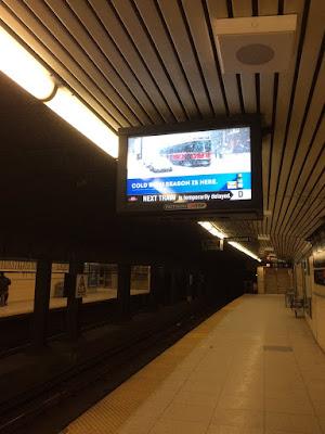 Large Pattern Subway Tile Kitchen Backsplash Contemperary