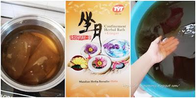Confinement Herbal Bath + Ginger TYT