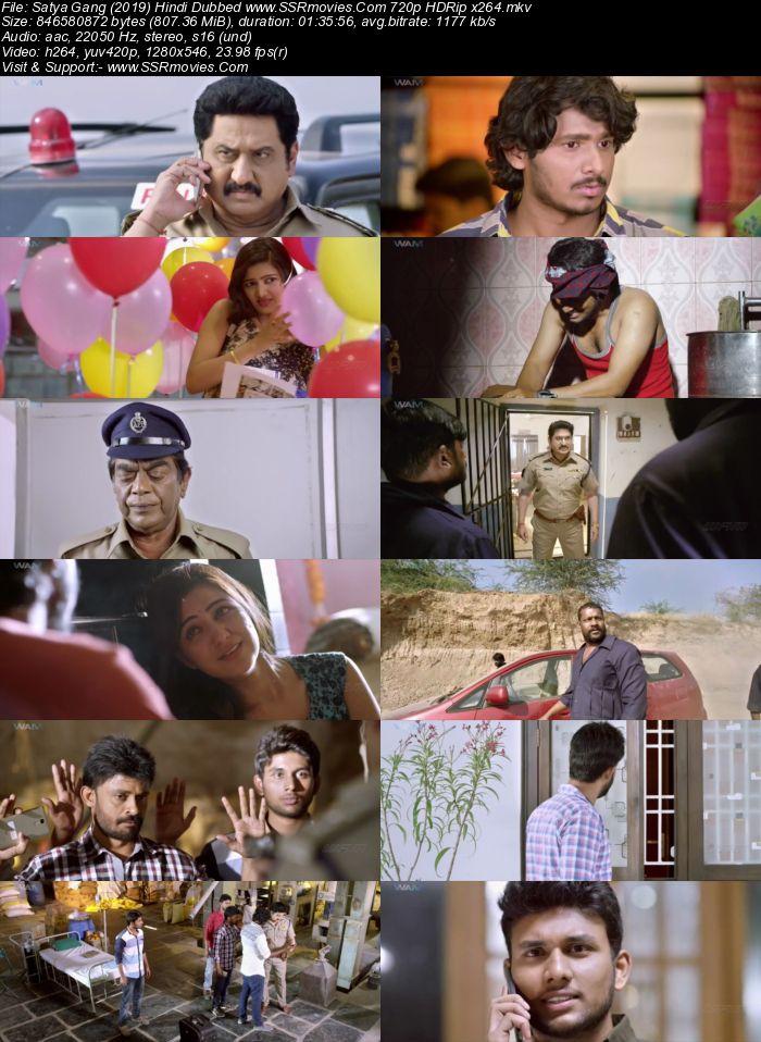 Satya Gang (2019) Hindi Dubbed 720p HDRip x264 800MB Movie Download