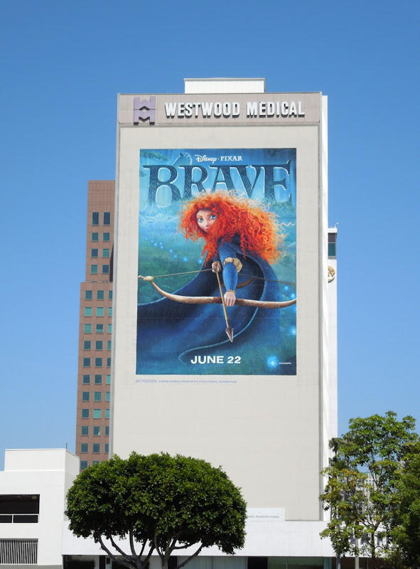 Giant Brave movie billboard