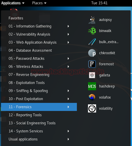 Forensic Data Carving using Foremost