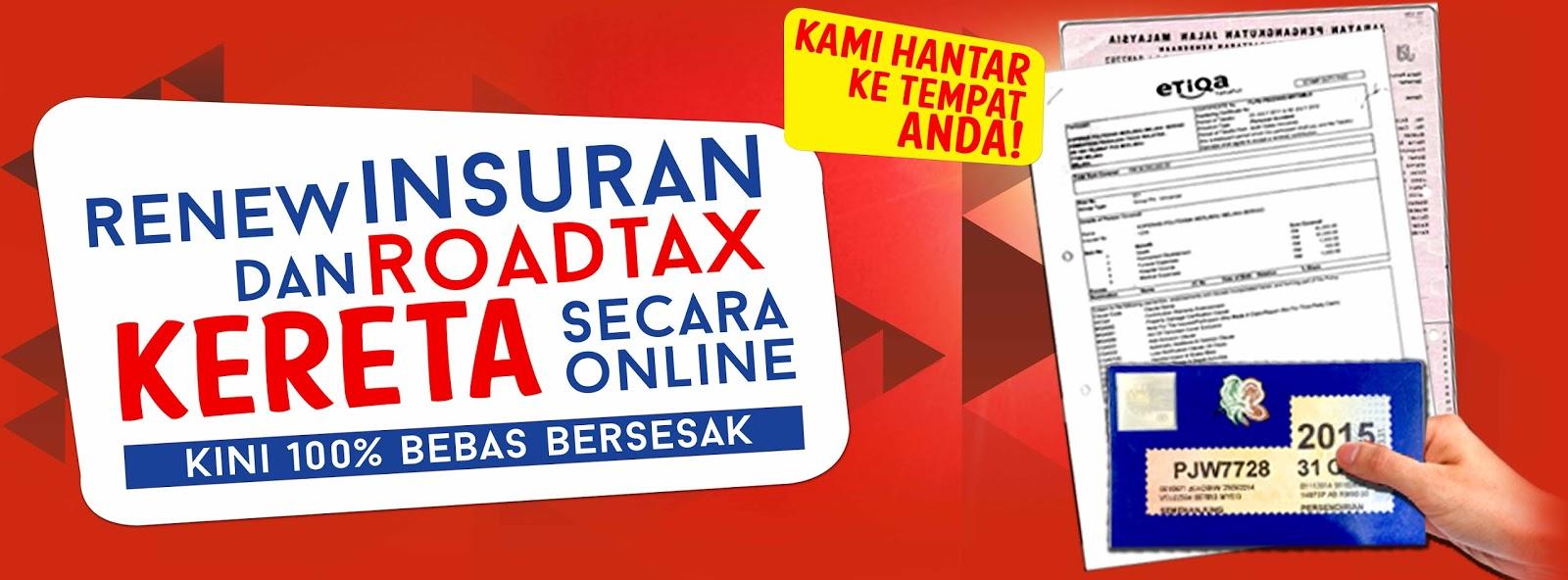 Etiqa Takaful Cara Memperbaharui Roadtax Dan Cukai Jalan Secara Online