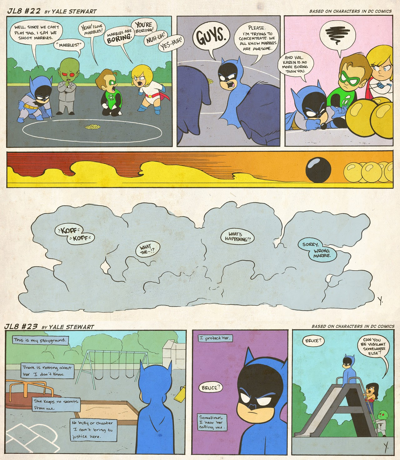 Read online JL8 – The Complete Collection comic -  Issue # TPB (Part 1) - 10
