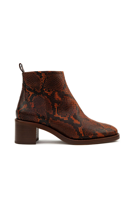 Bottines python Rivecour