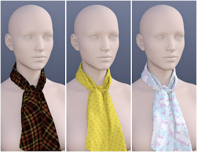 Scarves for Genesis 3 Female