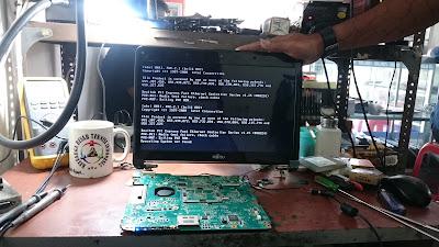 service laptop fujitsu mati total