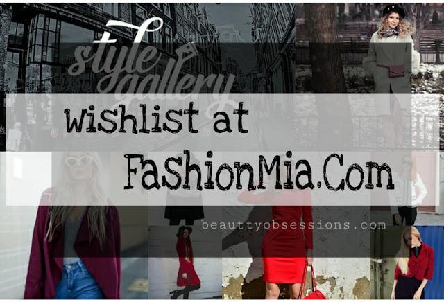 Wishlist at FashionMia.com