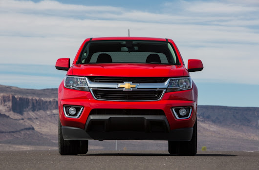 2017 Chevrolet Colorado Redesign and Release Date