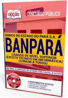 Apostila Banco Banpará - CARGOS DE NÍVEL SUPERIOR