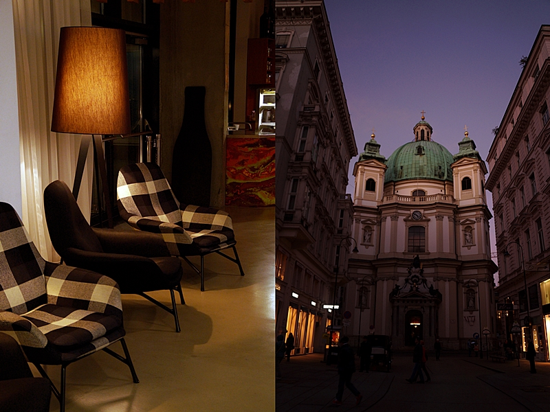 Vienna at night // Wien bei Nacht