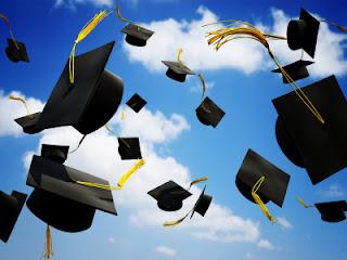 Graduation Caps to tell teachers the are appreciated.