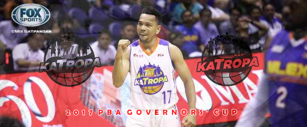 List of Leading Scorers TNT Katropa 2017 PBA Governors' Cup