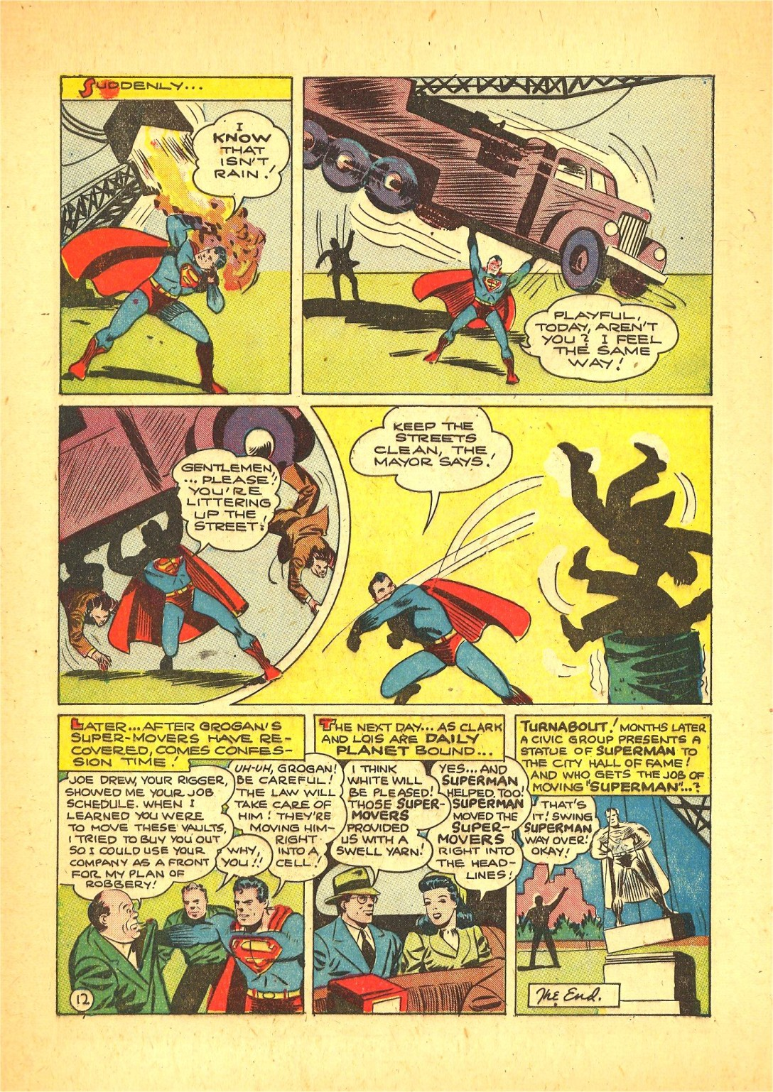 Read online Action Comics (1938) comic -  Issue #72 - 13