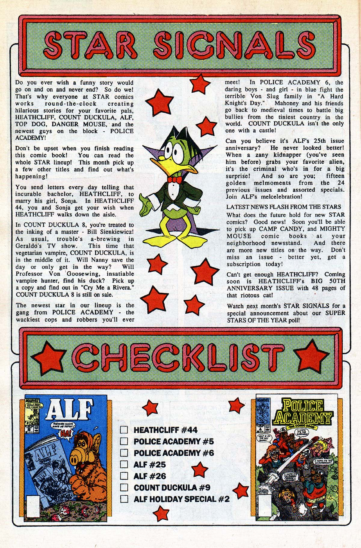 Read online ALF comic -  Issue #26 - 21