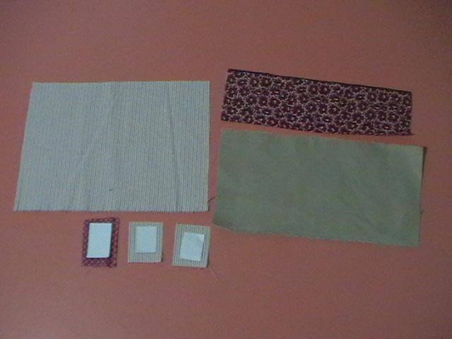 58b7f93af4 preparare le finestre ed il portone imbastendo la stoffa alla carta, si  deve proprio cucire la stoffa con la carta, oppure si può stirare la stoffa  ...