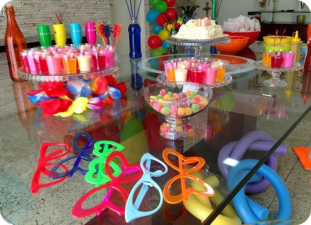 Decoração para Festa na Piscina - Pool Party