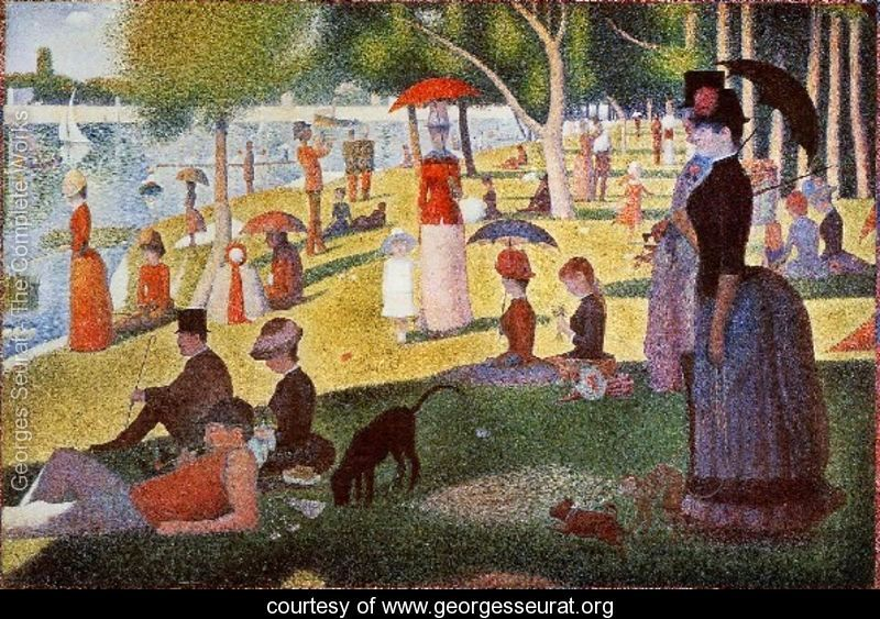 A Sunday Afternoon On The Island Of La Grande Jatte large