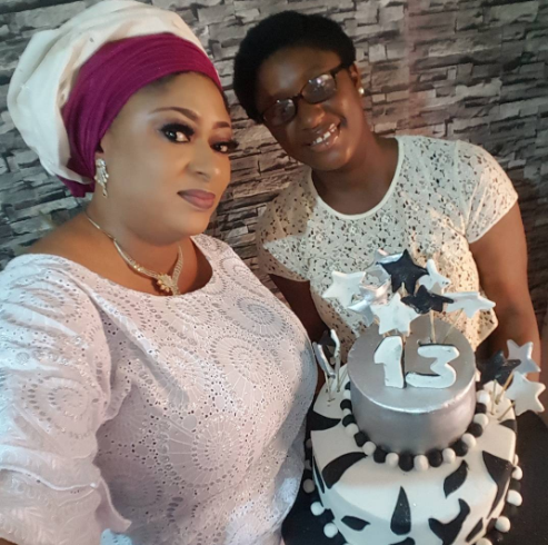 'The first fruit of my womb' – actress Ronke Oshodi-Oke celebrates her daughter's 13th birthday