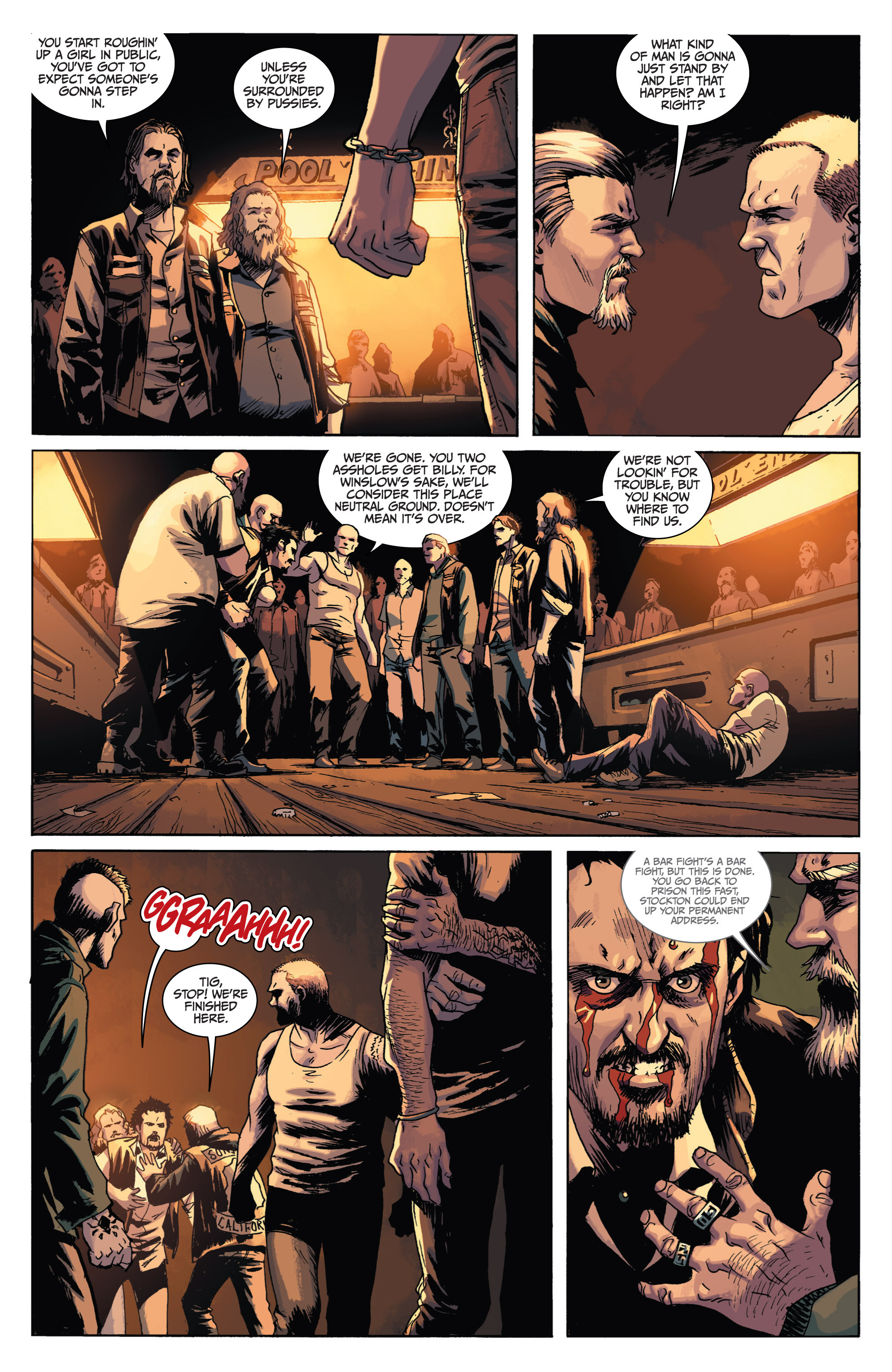 Read online Sons of Anarchy comic -  Issue #1 - 18