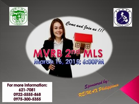 Announcement : 2nd MVRB MLS Meeting @ Aurora Residences
