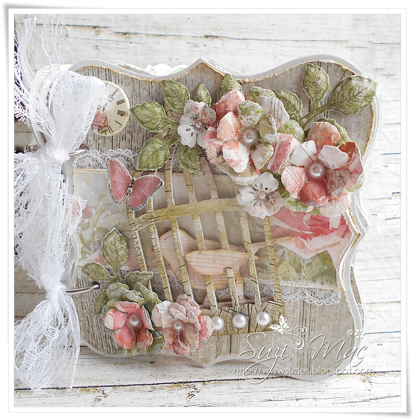 Scrap and Craft: Shabby Chic Wooden Mini Album