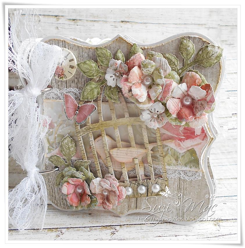 Scrap and Craft: Shabby Chic Wooden Mini Album