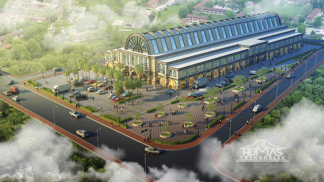 Plt. Bupati Nur Arifin: Pasar Pon Bakal Mempercantik Wajah Kota Trenggalek