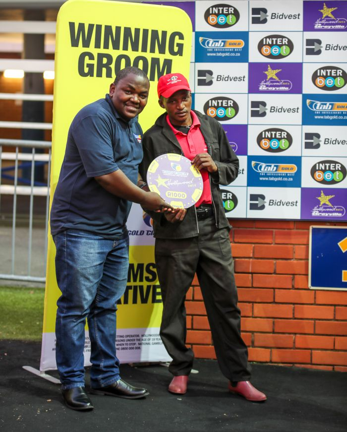 Grooms Initiative winner - Friday 6th December - Hollywoodbets Greyville - Race 3 - Siphesande Tomose - MOUNT ANDERSON