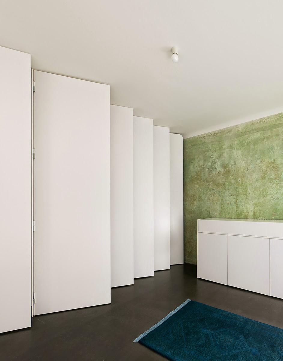 Jan Rösler Architekten simplicity love: mini apartment in berlin, germany | jan rösler