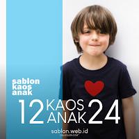 Sablon Kaos Anak Untuk Kaos Oleh Oleh Souvenir