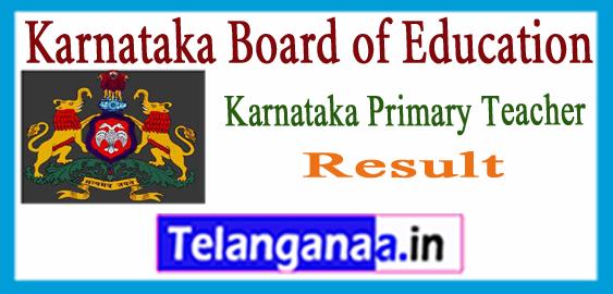 Karnataka Primary Teacher Expected Cutoff 2017 Result