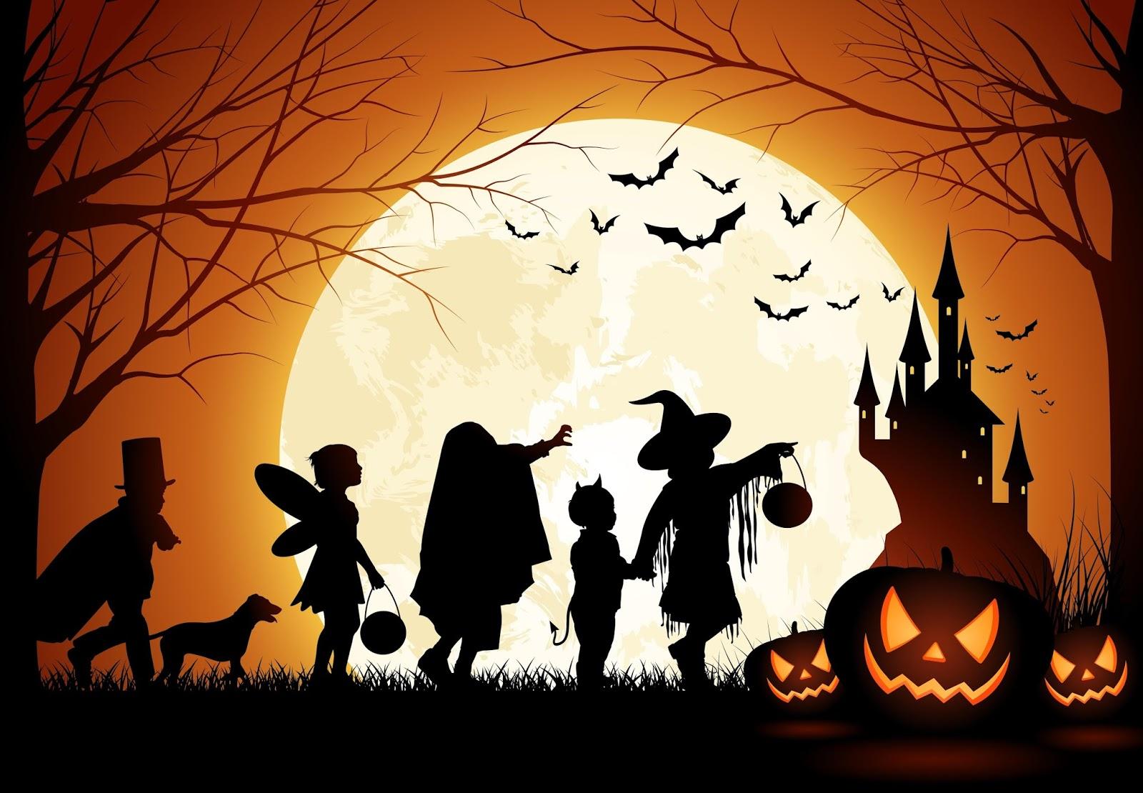 A tradição do halloween surgiu com os povos celtas e druidas 4f7cd22cf031