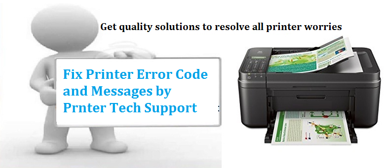 Resolve Printer Error Code and Messages: How to Resolve