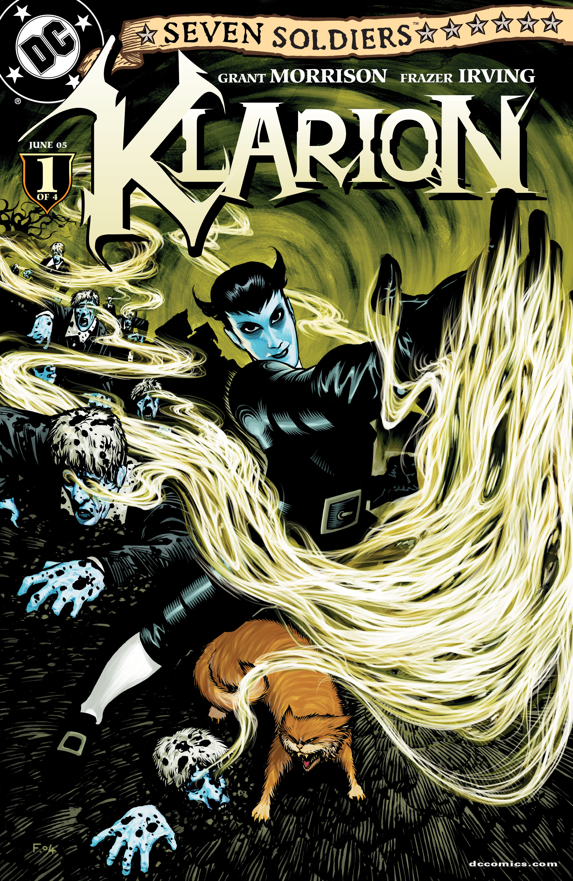 Read online Seven Soldiers: Klarion the Witch Boy comic -  Issue #1 - 1