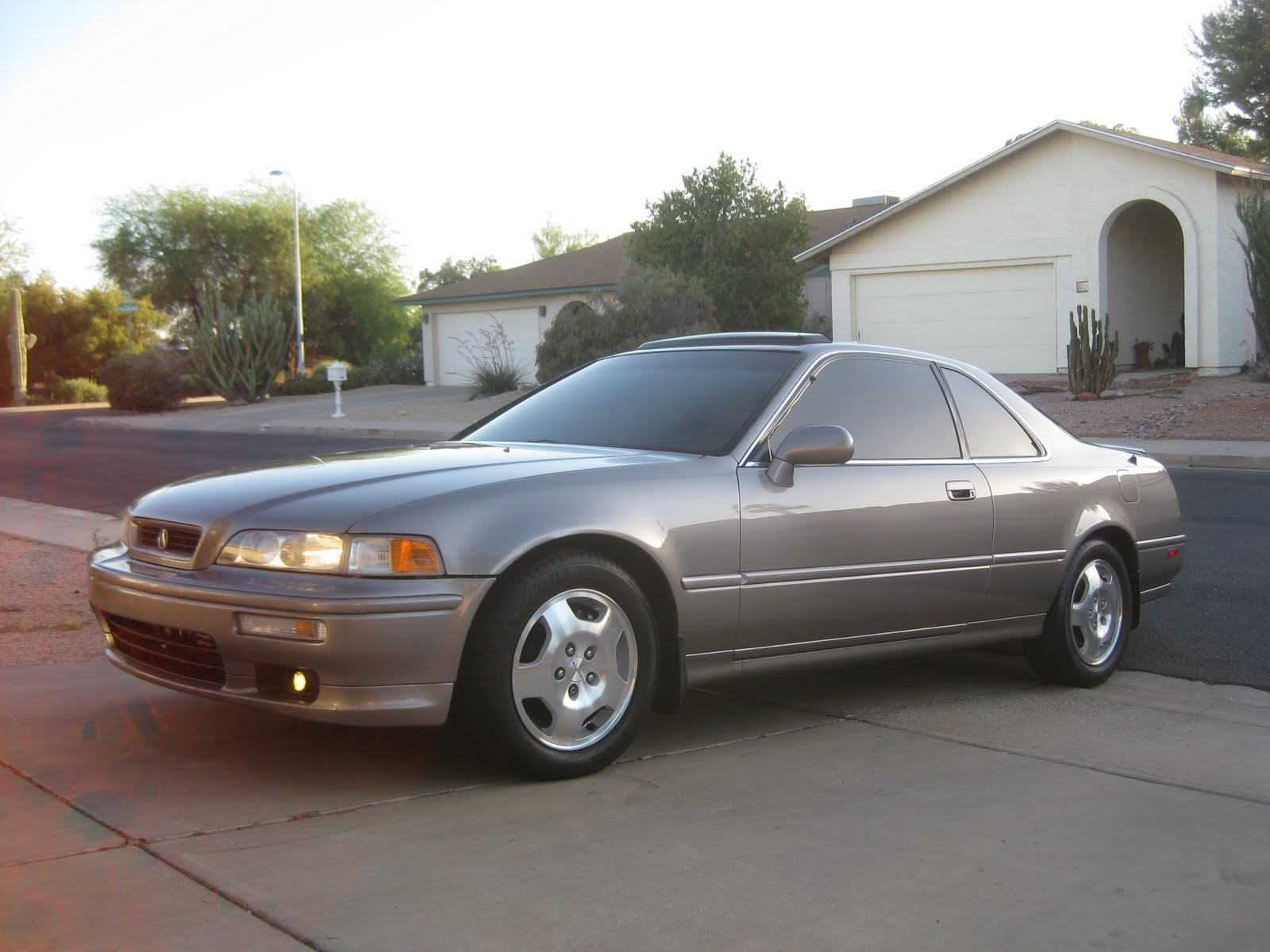 Tyson Hugie's 1994 Acura Legend Coupe. Not your typical 18-year old car.
