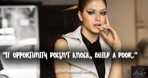 Quotes for Success: Build a Door