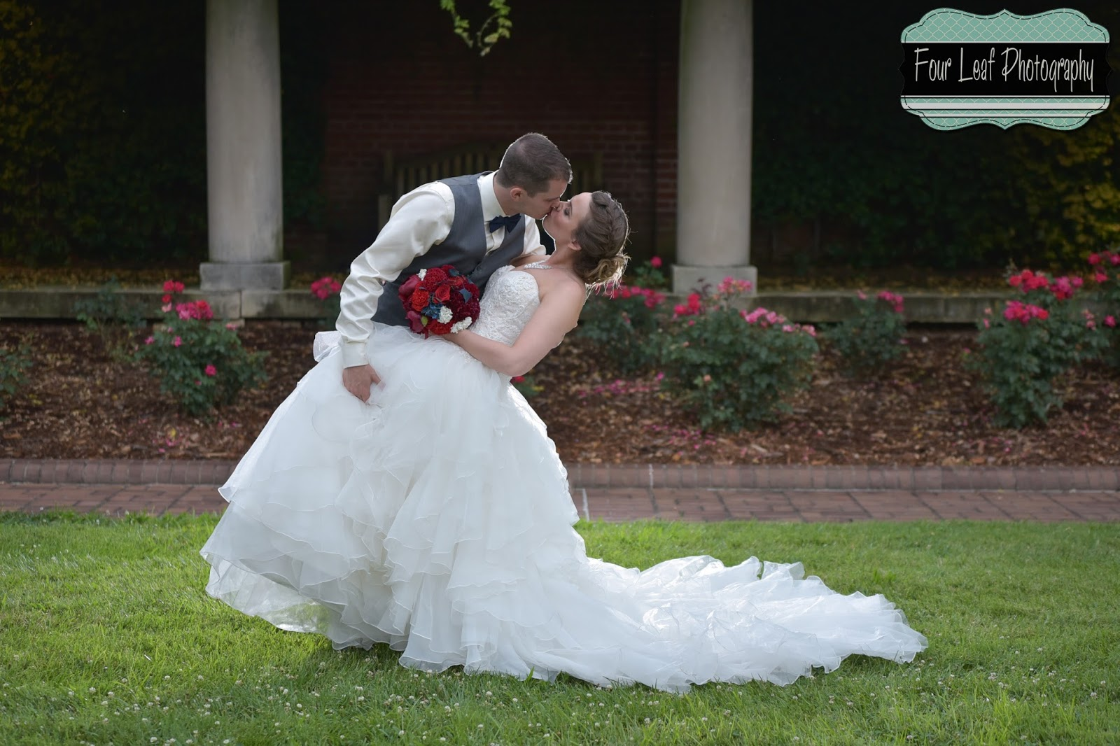 Blake And Danielle Had A Beautifully Romantic Wedding Located At The Garden Court Venue In Louisville Ky Since Was On July 3rd