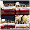 Lilin Ultah Motif HAPPY BIRTHDAY Warna Gold Silver