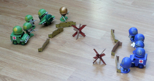 Awesome Little Green Men Battle