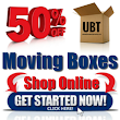 Save over 50% on moving boxes & moving supplies