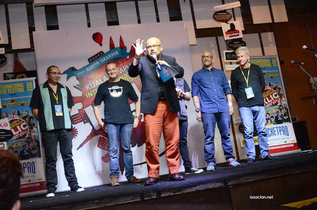 The Biggest and Funniest Comedy Festival in Asia Hits Kuala Lumpur (KLICFest2015)