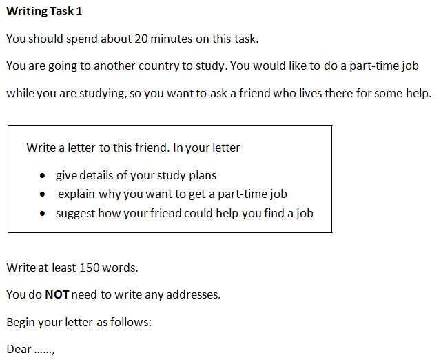 Ielts essay writing task 1 general