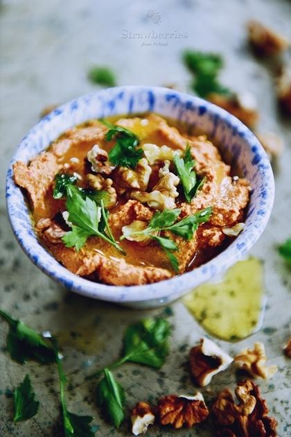 Pyszny hummus z orzechów