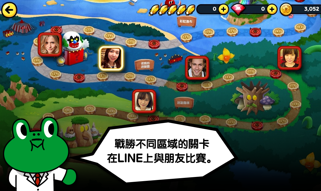 iOS/Android:LINE Rangers APK Download,好玩的手機塔防遊戲APP推薦下載