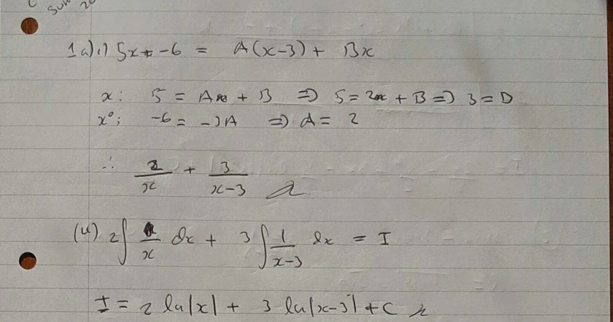 A Level Maths Notes: AQA Core 4 Summer 2012 Exam Paper