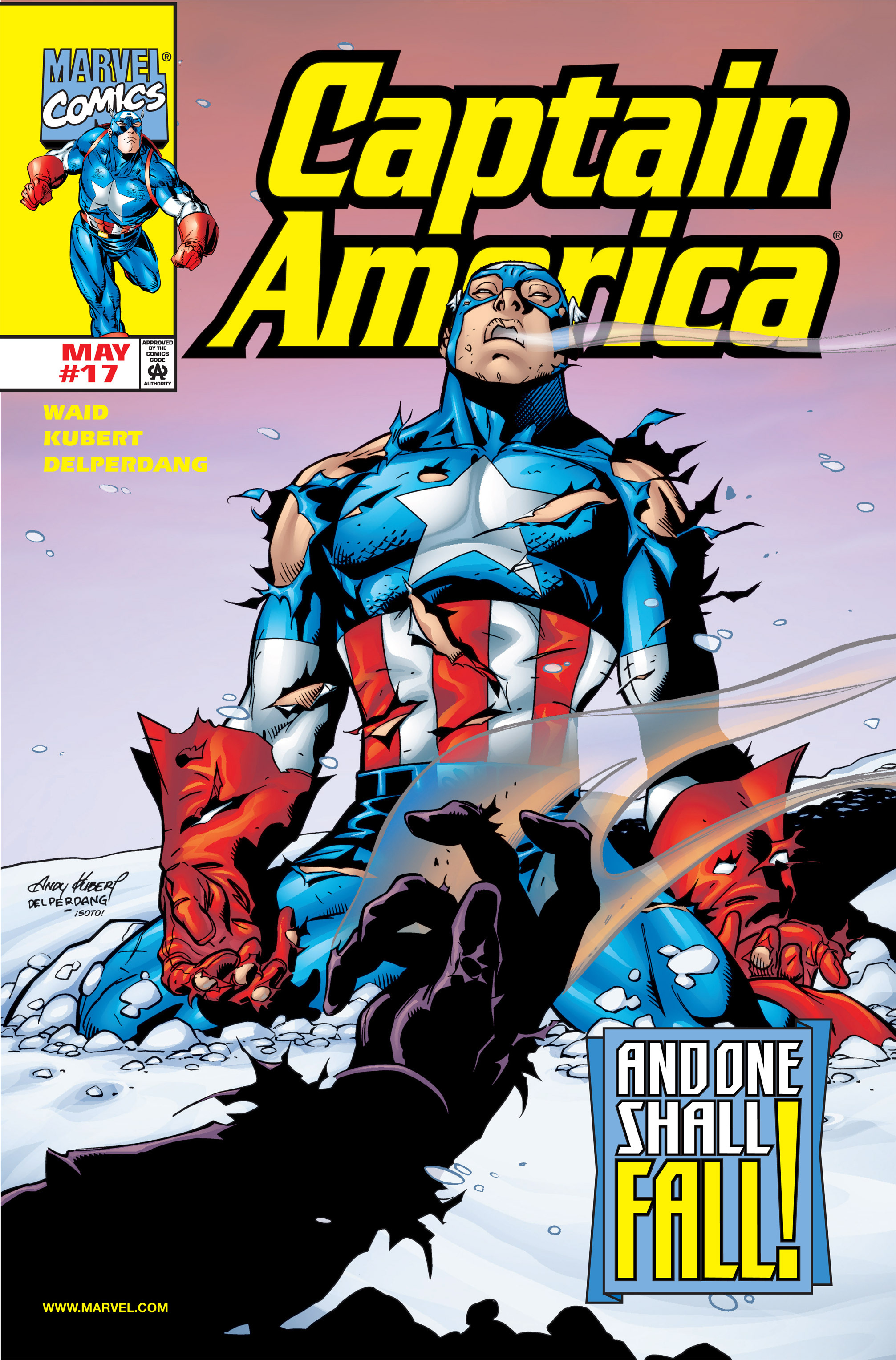Captain America (1998) 17 Page 1