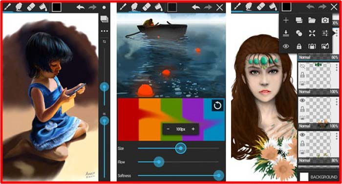 Best Top 3 Android Apps For Drawing, Painting & Skeching In