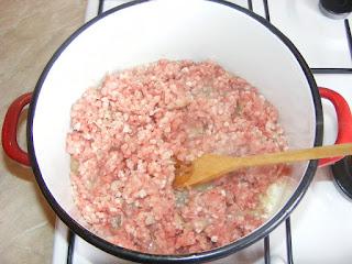 Ceapa calita cu carne tocata retete culinare,